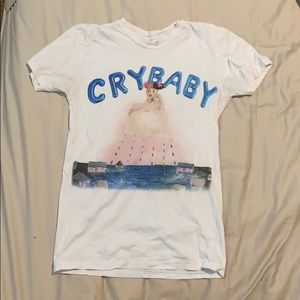 "White Melanie Martinez ""Cry Baby"" tee"